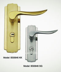 Antique style waterproof hotel bathroom door lock, cylinder handle lock