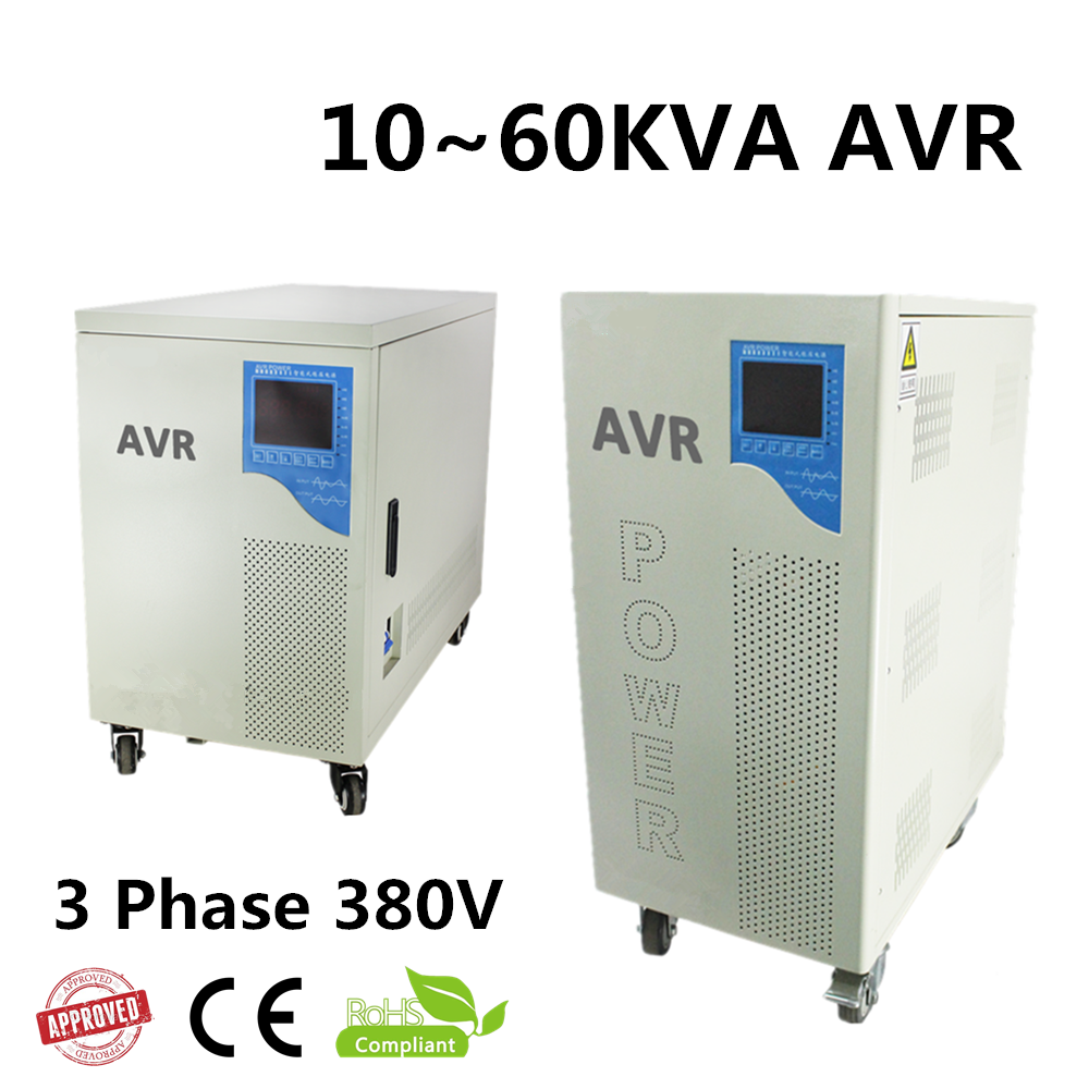 SBW 50kva industrial 3 phase voltage stabilizer